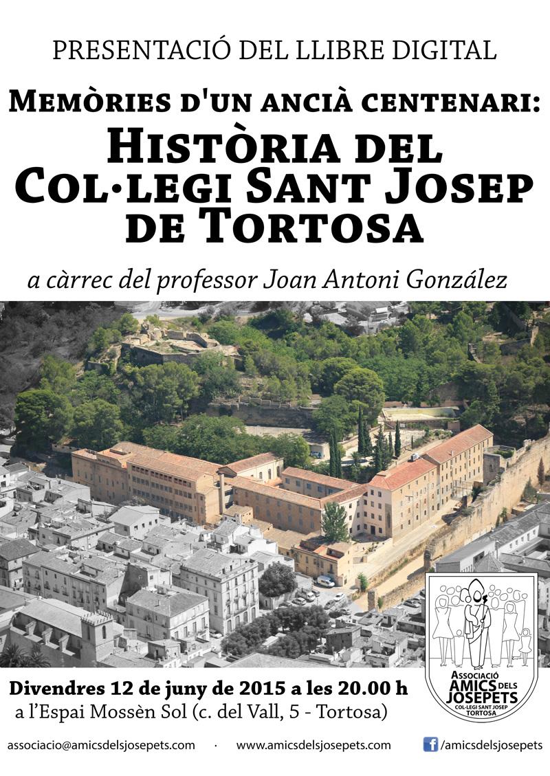 Historia del Col·legi Sant Josep de Tortosa