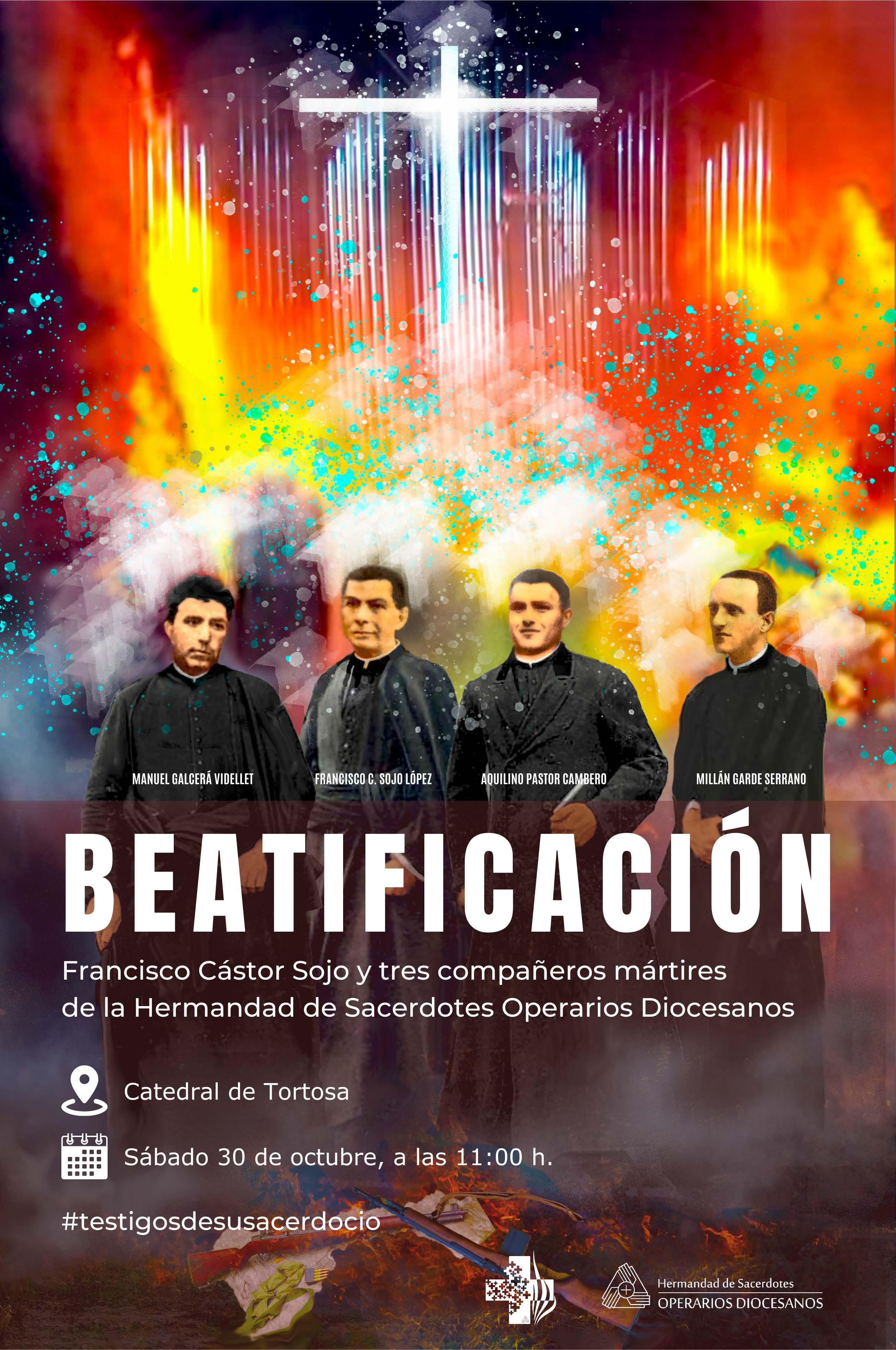 Cartell programa beatificació